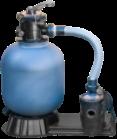 Abatec Pompa wodna z filtrem piaskowym odpowiednia dla rozmiaru basenu