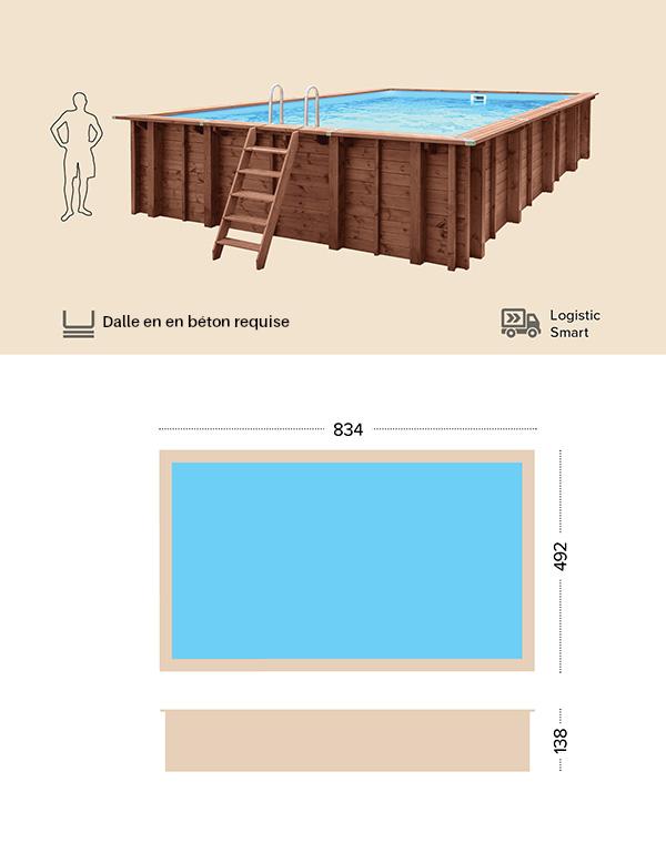 abatec piscine bois dessin technique samar