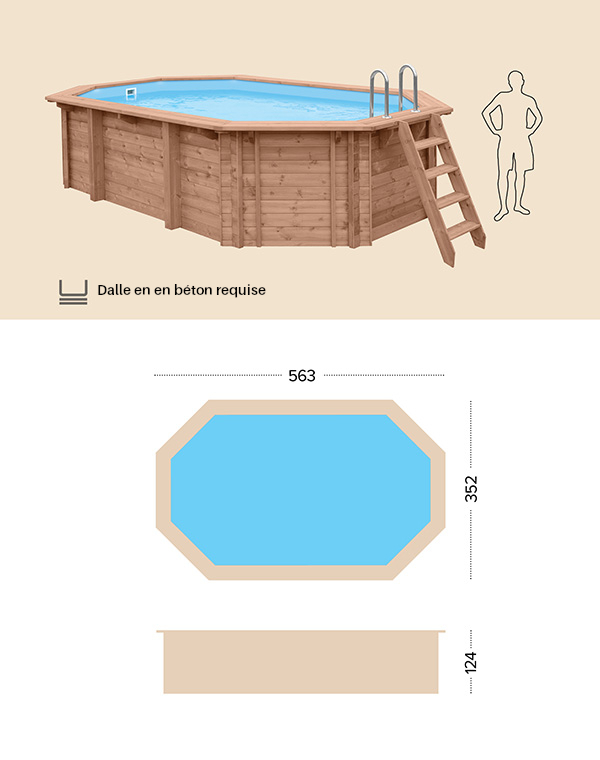 abatec wooden pool dessin technique blue lagoon