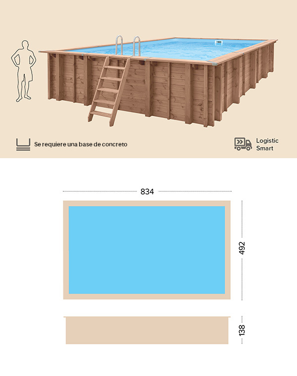 abatec piscinas de madera dibujo tecnico Pearl of South