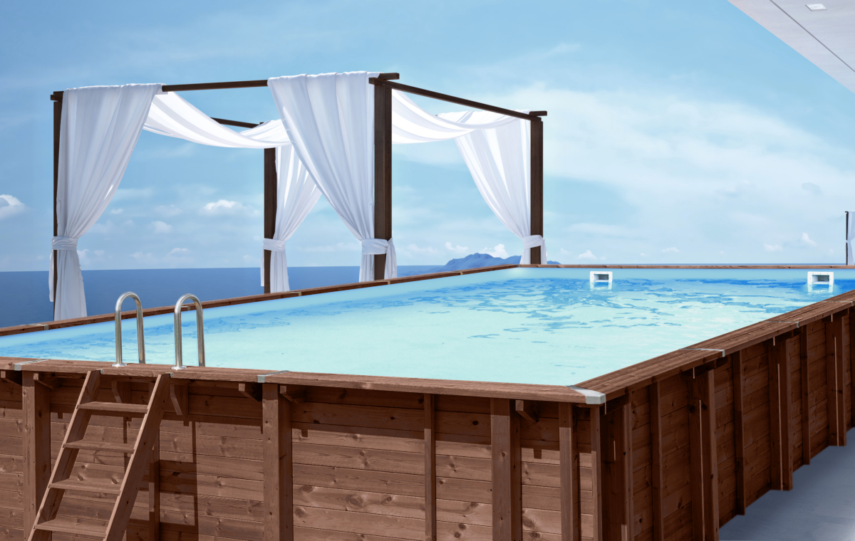 abatec wooden pools premium line Fiji