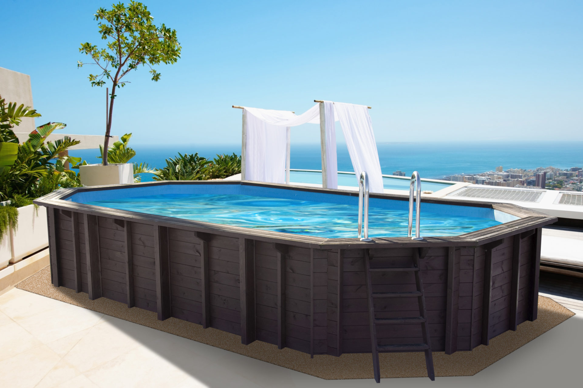 Abatec Above Ground Pools Premium Capri