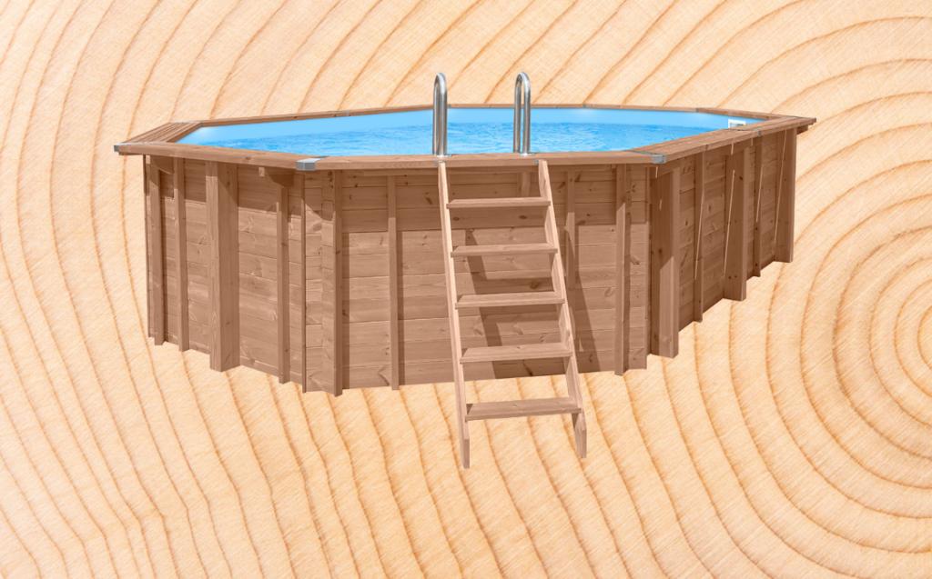 Abatec Standard drewniane baseny
