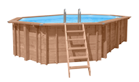 Abatec wooden pool
