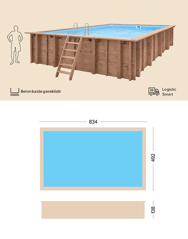 abatec wooden pools Teknik Cizim Pearl Of South