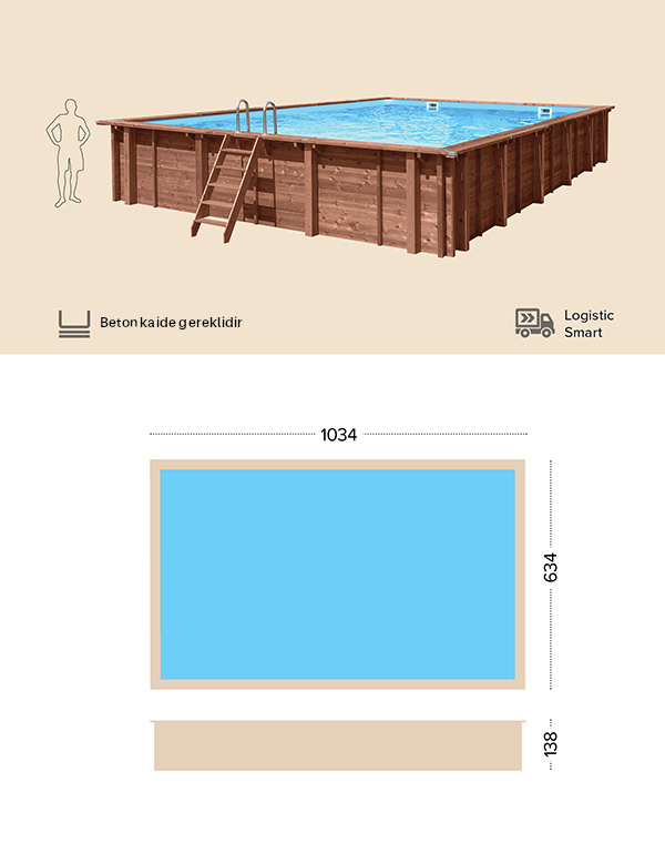 abatec wooden pools Teknik Cizim Fiji